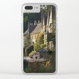Not the manor Clear iPhone Case