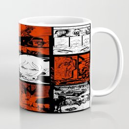 RED & WHITE - A nne Frankenstein Book I - Resurrection Coffee Mug