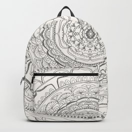 Black & White Lace Backpack