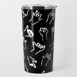 Bad Hands (Black) Travel Mug