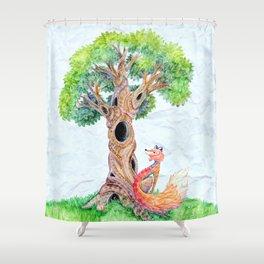 The Spirit Tree V2 Shower Curtain