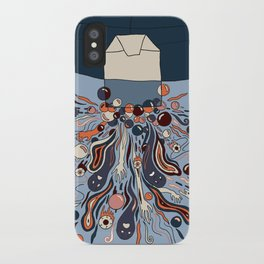Haunted Herbal Tea Box Design iPhone Case