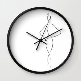Runway Wall Clock
