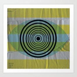 Auge gebumst Art Print