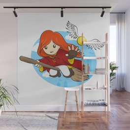 HP - Snitch Catcher - Ginger girl Wall Mural