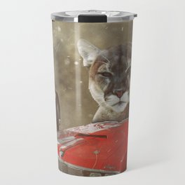 James Bond Characters: 1969 Mercury Cougar XR7 (On Her Majesty's Secret Service) Travel Mug