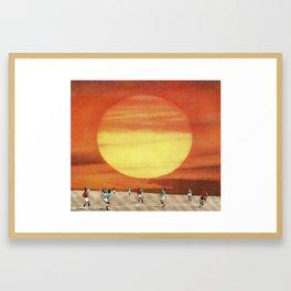 Transfers Framed Art Print