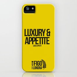 LUSS & PETITT iPhone Case