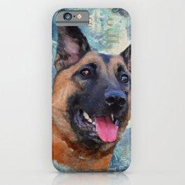 Malinois  - Belgian shepherd - Mechelaar iPhone Case