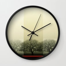 Trees Wall Clock