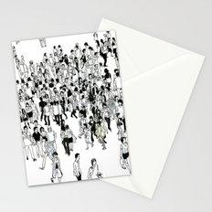 Shibuya Street Crossing Crowd Stationery Cards