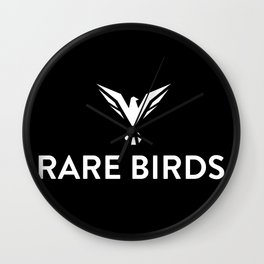 Rare Birds Wall Clock