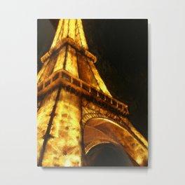 Eifel Tower Metal Print