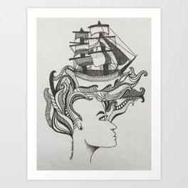 Petit Marin Art Print