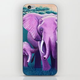 Wheres my elephant? iPhone Skin
