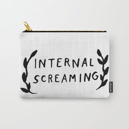 Internal screaming Carry-All Pouch