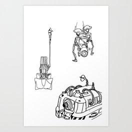 Generator  Art Print