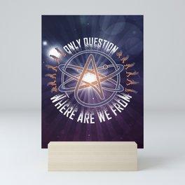 Atheist Print, Printable Wall Art, Modern Home Decor, Set Of 2 Prints, Desert Wall Art, Abstract Printable Art, Living Room Print Mini Art Print