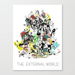 The External World Canvas Print