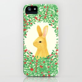 Lingon bunny iPhone Case