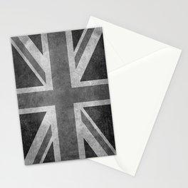 British Union Jack flag 1:2 scale retro grunge Stationery Cards