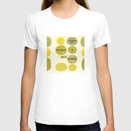 Poemas a destiempo T-shirt