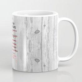 The Seven Commandments - Animal Farm Coffee Mug
