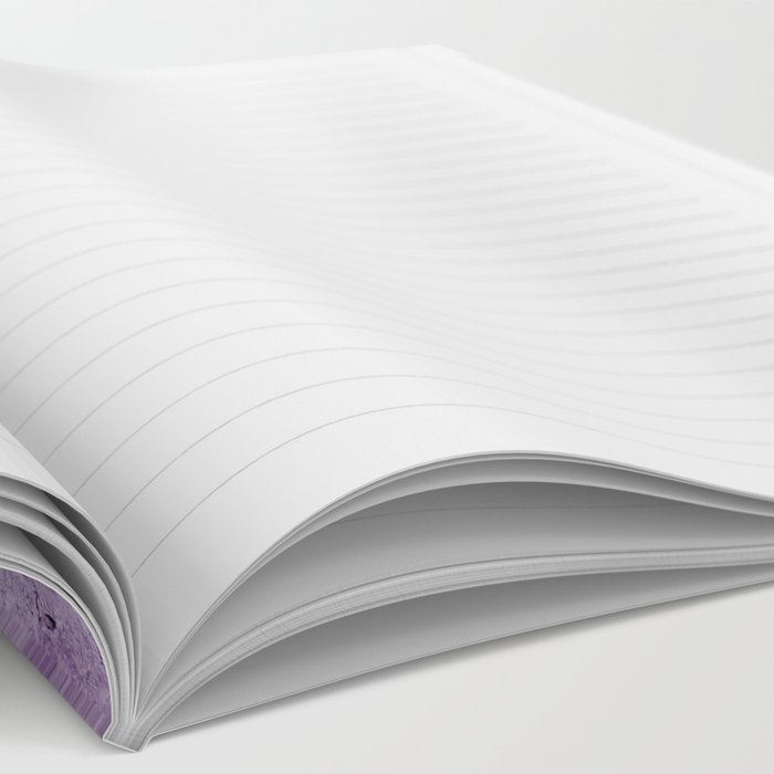 Radiant Orchid Purple Ombre  Notebook