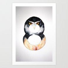 Numbirds Art Print