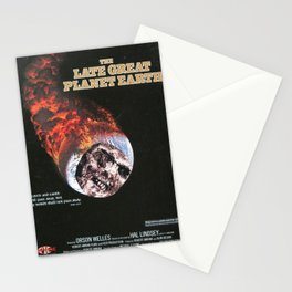THE LATE GREAT PLANET EARTH Stationery Cards