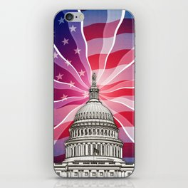 The World of Politics iPhone Skin
