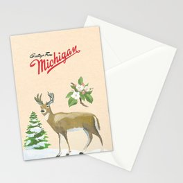 Greetings from Michigan Stationery Cards