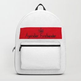 Agender (fire) Backpack