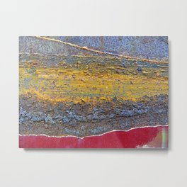 Colors of Rust 824 / ROSTart Metal Print
