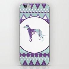 Greyhound Geometri iPhone & iPod Skin