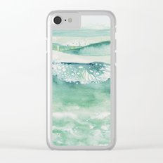 Ocean I Clear iPhone Case