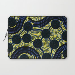 Aboriginal Art – The Rivers around Us Laptop Sleeve