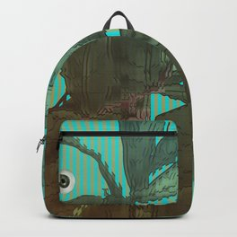 distorted plant sees everything Backpack