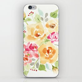 Suede Roses iPhone Skin