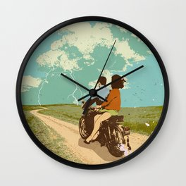 STORM CHASERS Wall Clock