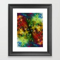 Cosmic Timewarp Framed Art Print