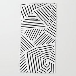 Ab Linear Zoom W Beach Towel