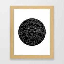 Sigillum Dei Framed Art Print
