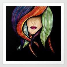 Colorful. Art Print