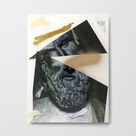 Untitled (Painted Composition 12) Metal Print