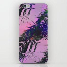 Glitchy Palm iPhone Skin