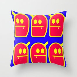 6 Mr. Grubbo And No More Throw Pillow