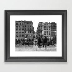 A Nice Day to be a Tourist Framed Art Print