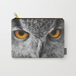 The Eyes of a European Eagle Owl Carry-All Pouch