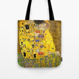The Lovers Kiss After Klimt Tote Bag